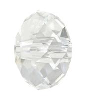 5041 - 18mm Swarovski Briolette Beads (Large Hole) - Crystal