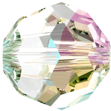 5000 - 8mm Swarovski Faceted Round Bead - Crystal Shimmer