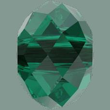 5040 - 6mm Swarovski Briolette Beads - Emerald