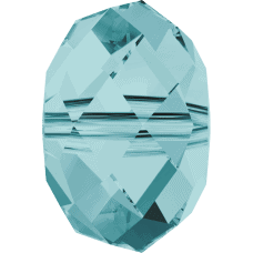 5040 - 8mm Swarovski Briolette Beads - Light Turquoise