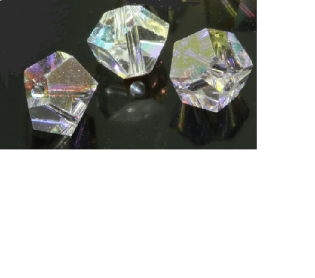 #5310 - 4.5mm Swarovski Simplicity Bead - Crystal AB