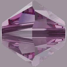 5301/5328 - 3mm Swarovski Bicone Crystal Bead - IRIS