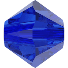 5301/5328 - 5mm Swarovski Bicone Crystal Bead - Majestic Blue