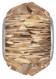 5948 - 14mm Swarovski BeCharmed Briolette Bead - Crystal Copper