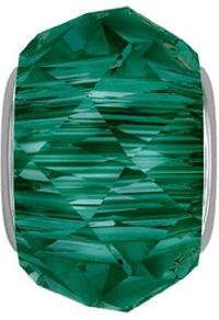 5948 - 14mm Swarovski BeCharmed Briolette Bead - Emerald