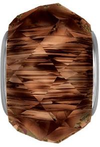 5948 - 14mm Swarovski BeCharmed Briolette Bead - Smoked Topaz