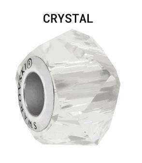 5928 - 14mm Swarovski BeCharmed Helix Bead - Crystal