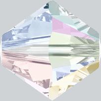 5301/5328 - 2.5mm Swarovski Bicone Crystal Bead - Crystal AB