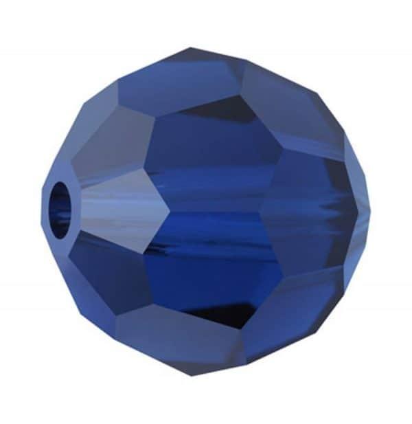 5000 - 6mm Swarovski Round Crystal Bead - Dark Sapphire