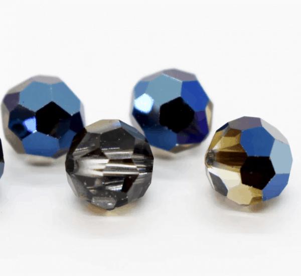 5000 - 6mm Swarovski Round Crystal Bead - Crystal Metallic Blue
