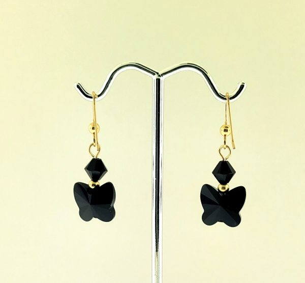 #26722 - Swarovski Crystal Earring with Gold Filled Ear Wire