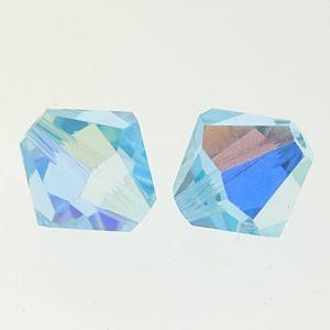 5301/5328 - 8mm Swarovski Bicone Crystal Bead - Alexandrite AB