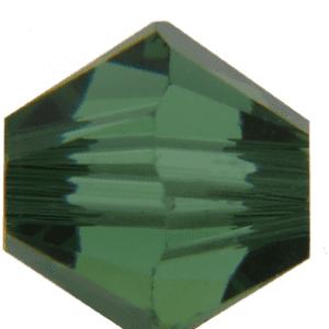 5301/5328 - 6mm Swarovski Bicone Crystal Bead - Green Turmaline