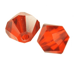 5301/5328 - 6mm Swarovski Bicone Crystal Bead - Hyacinth Satin