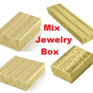 Mix Boxes - Cotton Filled Jewelry Gift Box
