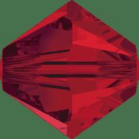 5301/5328 - 7mm Swarovski Bicone Crystal Bead - Light Siam