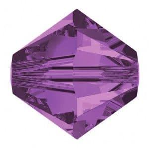 5301/5328 - 8mm Swarovski Bicone Crystal Bead - Lilac