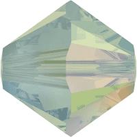 5301/5328 - 6mm Swarovski Bicone Crystal Bead - Pacific Opal AB