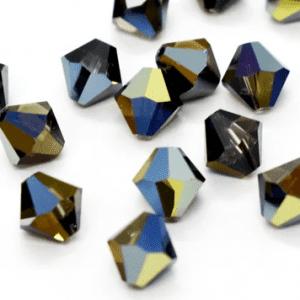 5301/5328 - 4mm Swarovski Bicone Crystal Bead- Sahara